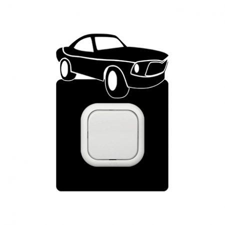 Autó kapcsoló védőmatrica