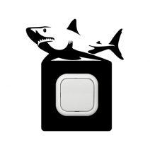 Cápa kapcsoló védőmatrica