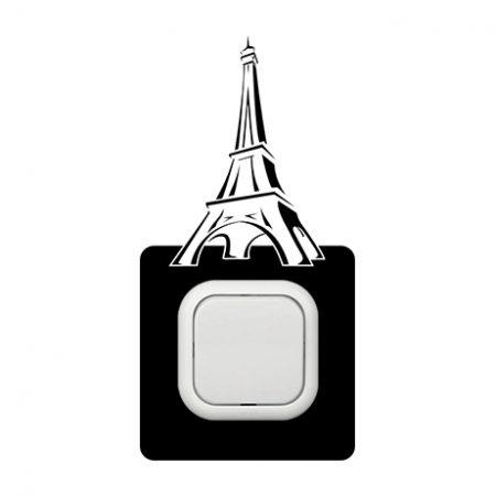 Eiffel kapcsoló védőmatrica