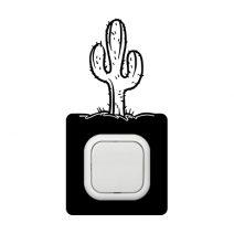 Kaktusz kapcsoló védőmatrica