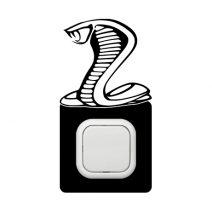 Kobra kapcsoló védőmatrica