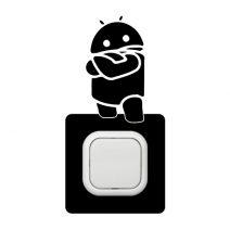 Robot kapcsoló védőmatrica