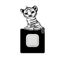 Tigris 1 kapcsoló védőmatrica