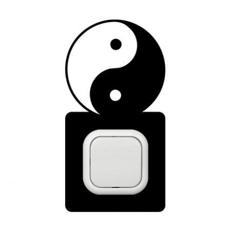 Yin Yang kapcsoló védőmatrica
