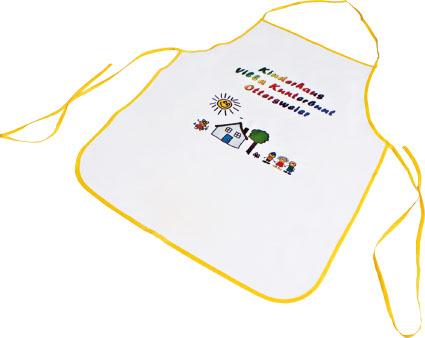 Textil gyerek kötény