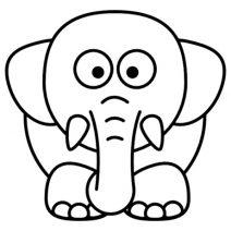 Elefánt autó matrica