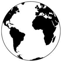 Föld autó matrica