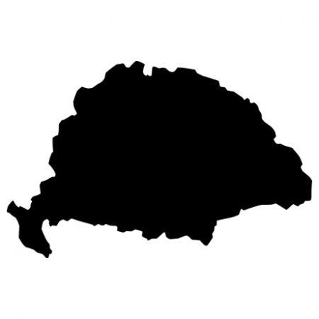 Nagy-Magyarország autó matrica