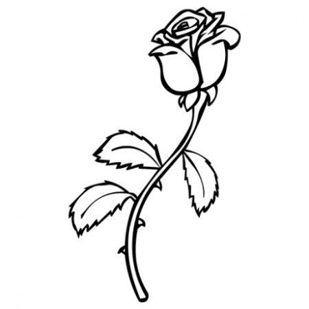 Rózsa autó matrica
