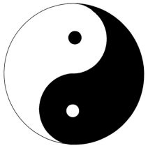 Yin-Yang autó matrica
