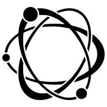 Atom autó matrica