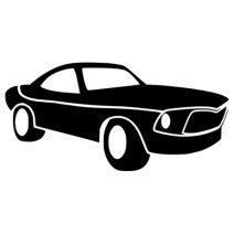 Autós autó matrica