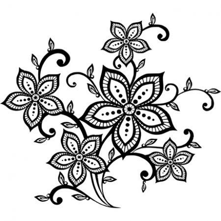 Virágos 2 falmatrica