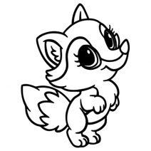 Kis róka falmatrica